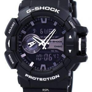 Montre Casio G-Shock Analog numérique World Time GA-400GB-1A Hommes