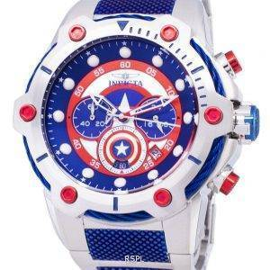 Montre Invicta Marvel 25780 Captain America Limited Edition Chronographe Quartz homme