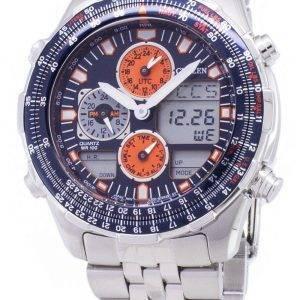 Montre Citizen Navihawk pilote JN0121 - 82L chronographe hommes