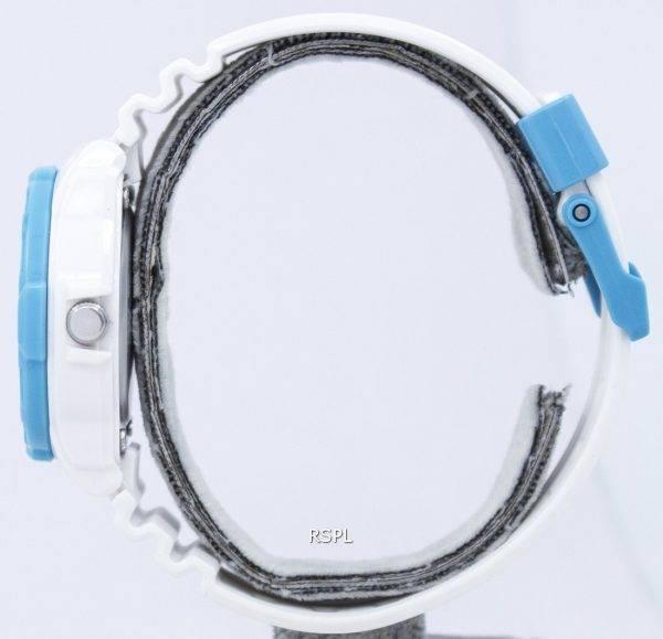 Casio Blanc modem analogique LRW-200H-2BVDF Montre LRW-200H-2BV femmes