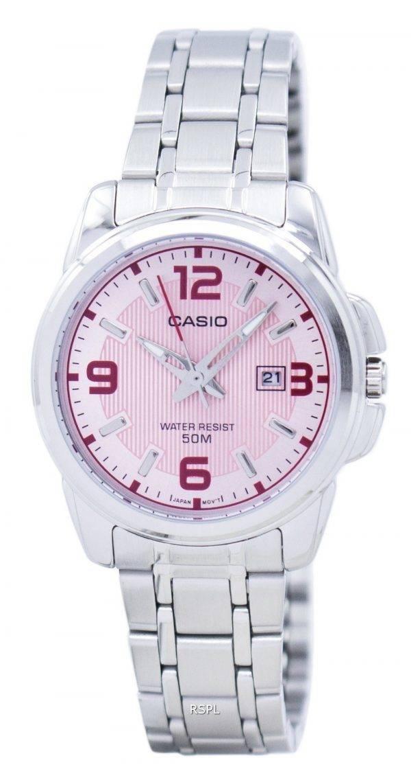Casio Enticer quartz analogique LTP-1314D-5AVDF LTP-1314D-5AV Montre Femme