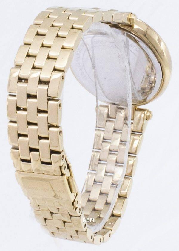 Montre Michael Kors Darci Mini cristaux couleur or MK3365 féminin