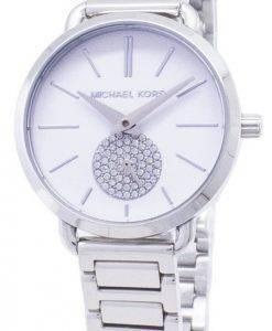 Montre Michael Kors Petite Portia Quartz diamant Accent MK3837 féminin