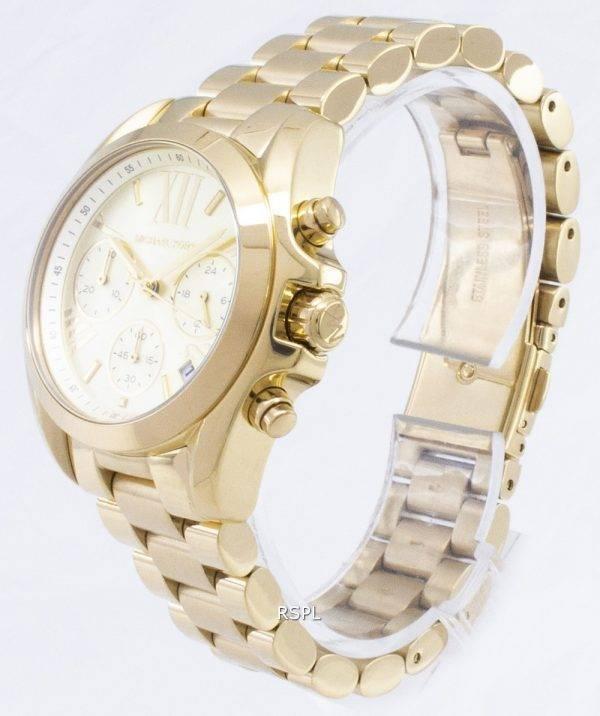 Montre Michael Kors chronographe Bradshaw MK5798 féminin