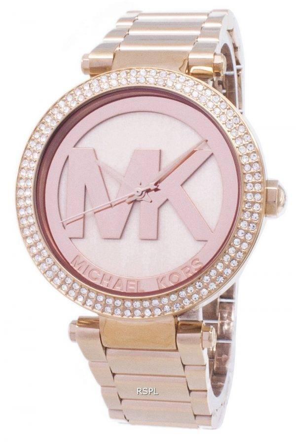 Montre Michael Kors Parker cristaux MK5865 féminin