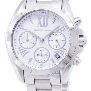 Montre Michael Kors Bradshaw chronographe cadran argenté MK6174 féminin