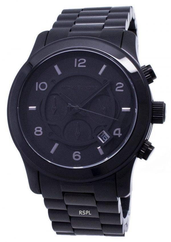 Michael Kors noircis piste chronographe MK8157 montre homme