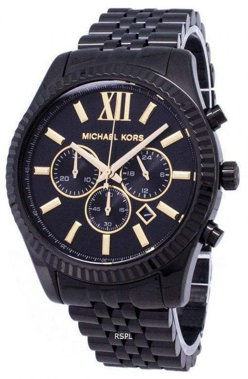 Michael Kors Lexington MK8603 chronographe Quartz analogique montre homme