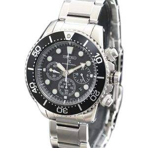 Seiko Prospex Scuba Diver SBDL047 Japon fait montre chronographe solaire 200M masculin