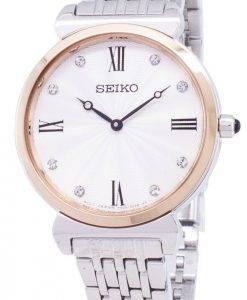 Seiko Quartz SFQ798 SFQ798P1 SFQ798P Diamond Accents Women Watch