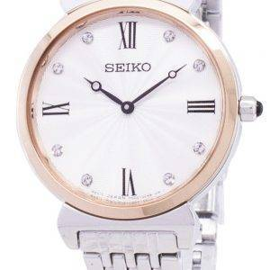 Seiko Quartz SFQ798 SFQ798P1 SFQ798P Diamond Accents Women Watch