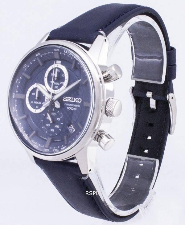 Montre Seiko SSB333 SSB333P1 SSB333P chronographe Quartz homme