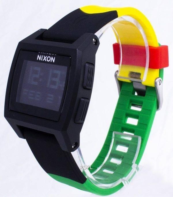 Montre Nixon marée Base numérique A1104-1114-00 Quartz homme