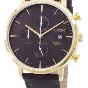 Montre Citizen Chronograph AN3612-09 X Quartz analogique homme