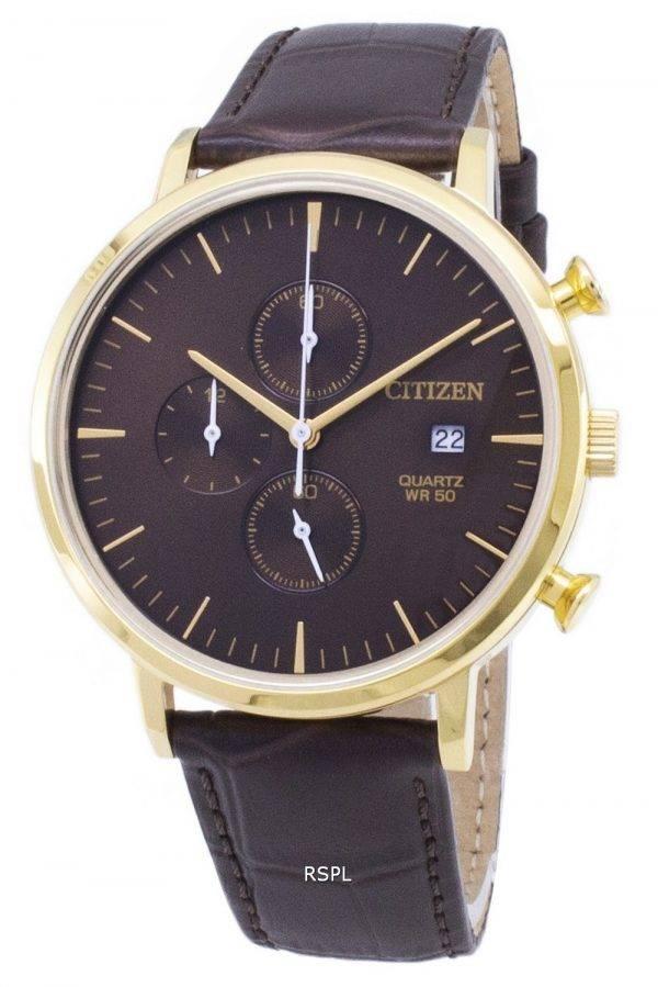 Montre Citizen Chronograph AN3612-09 X Quartz analogique homme