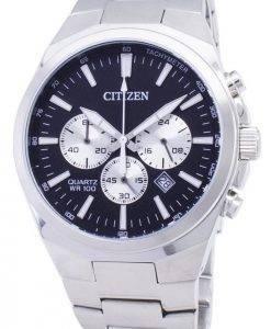 Montre Citizen Chronograph AN8170-59E tachymètre Quartz homme