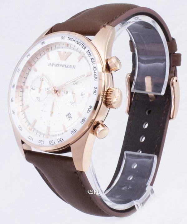 Emporio Armani Sportivo chronographe tachymètre Quartz AR5995 montre homme