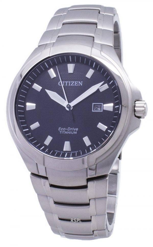 Citizen Eco-Drive BM7430-89F titane analogique montre homme