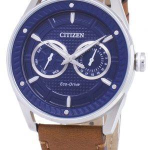 Citizen Eco-Drive BU4021 - 17L Power Reserve analogique montre homme
