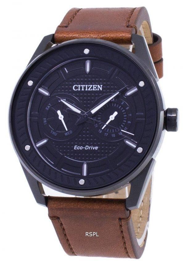 Citizen Eco-Drive BU4028-18E Power Reserve analogique montre homme