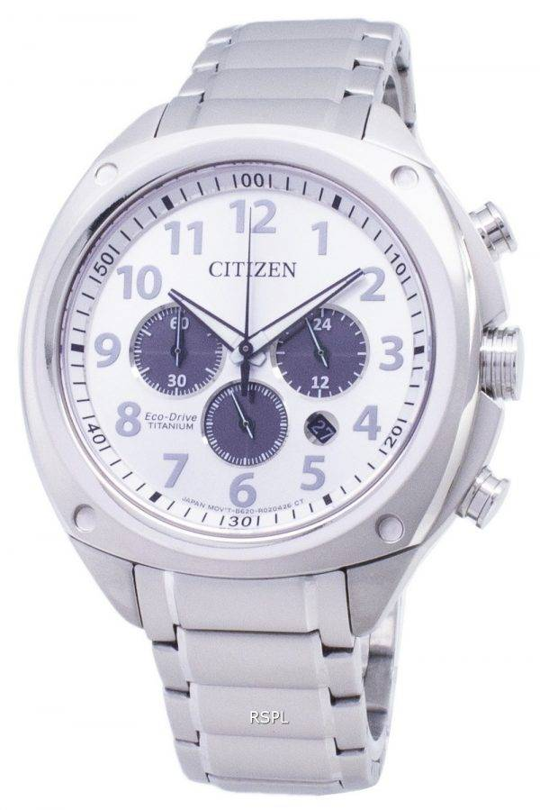 Citizen Eco-Drive CA4310-54 a titane chronographe analogique montre homme