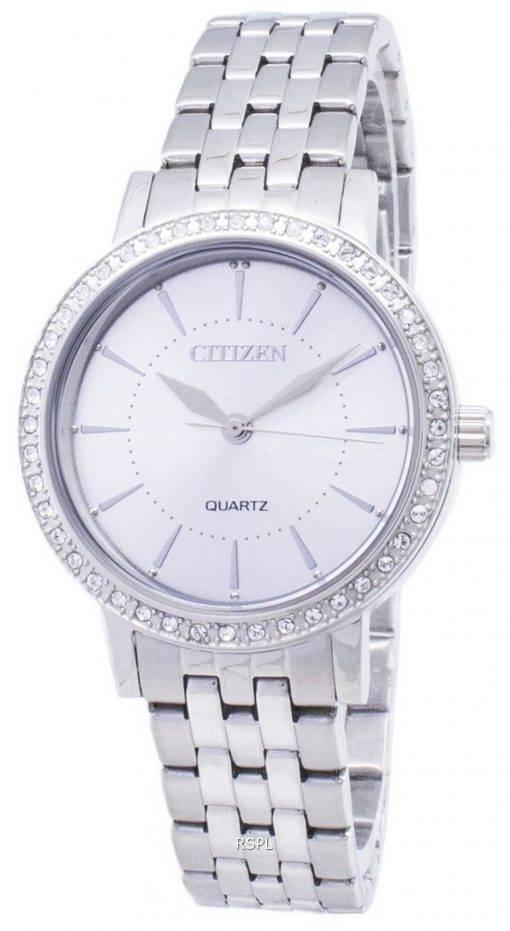 Montre Citizen Quartz EL3040-80 a Diamond analogiques Accents féminin