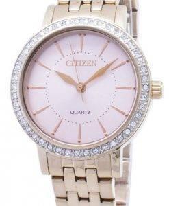 Citizen Quartz EL3043-81 X analogique diamant Accents Women Watch