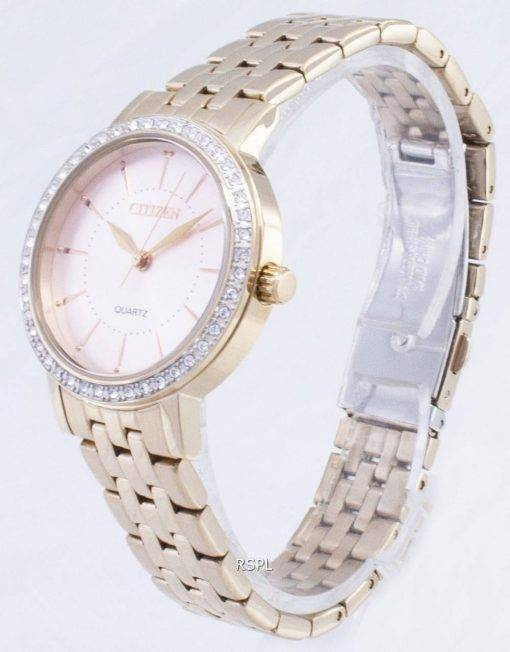 Citizen Quartz EL3043-81 X analogique diamant Accents Women Watch