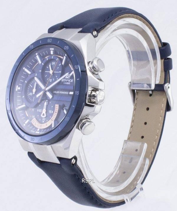 Montre Casio Edifice EQS-920BL-2AV EQS920BL-2AV solaire chronographe hommes