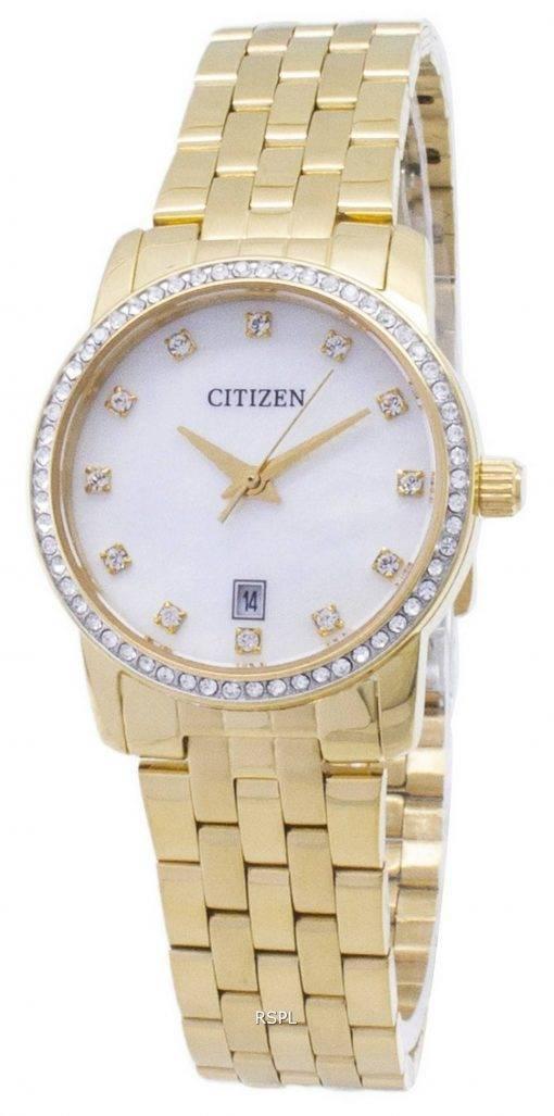 Citizen Quartz EU6032 - 51d Analog diamant Accents Women Watch