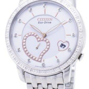 Citizen Eco-Drive EV1000-58 a diamant Accents analogiques Women Watch