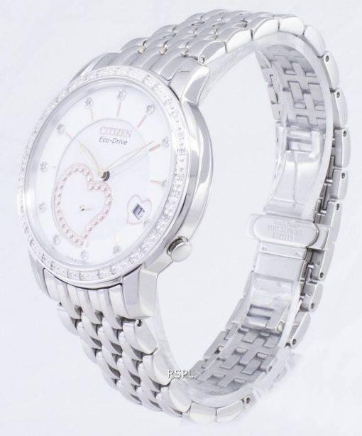 Citizen Eco-Drive EV1000-58 a diamant Accents analogiques Women Watch