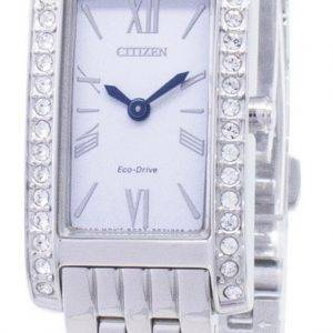 Citizen Eco-Drive EX1470-86 a diamant Accents analogiques Women Watch