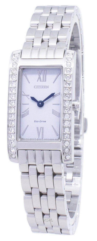 Citizen Eco-Drive EX1470-86 a diamant Accents analogiques Women Watch