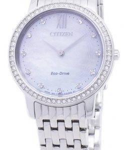 Citizen Eco-Drive EX1480-82D diamant Accents analogiques Women Watch