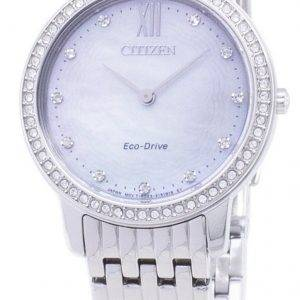 Citizen Eco-Drive EX1480-82D diamant Accents analogiques Women Watch