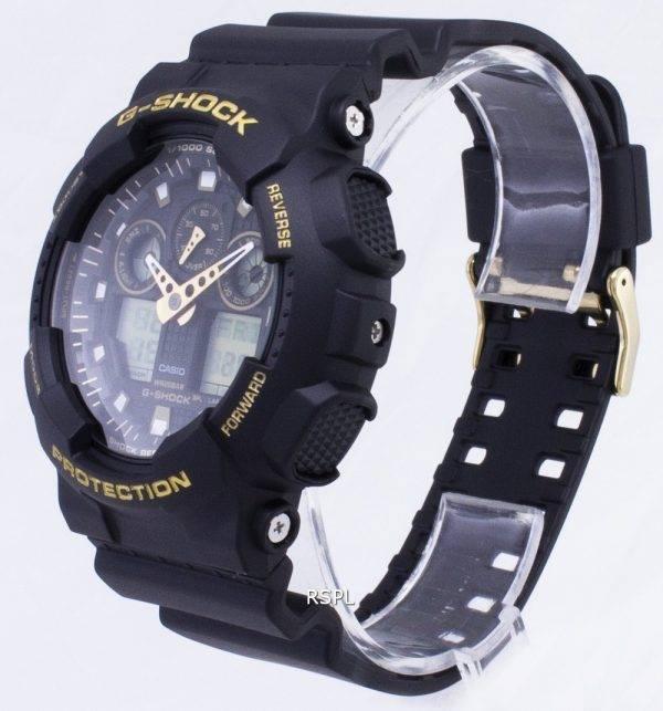 Casio G-Shock GA-100GBX-1 a 9 GA100GBX-1 a 9 Analog Digital 200M Watch hommes