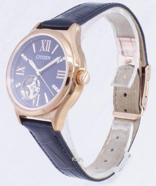 Citizen automatique PC1003 - 15L diamant Accents analogiques Women Watch