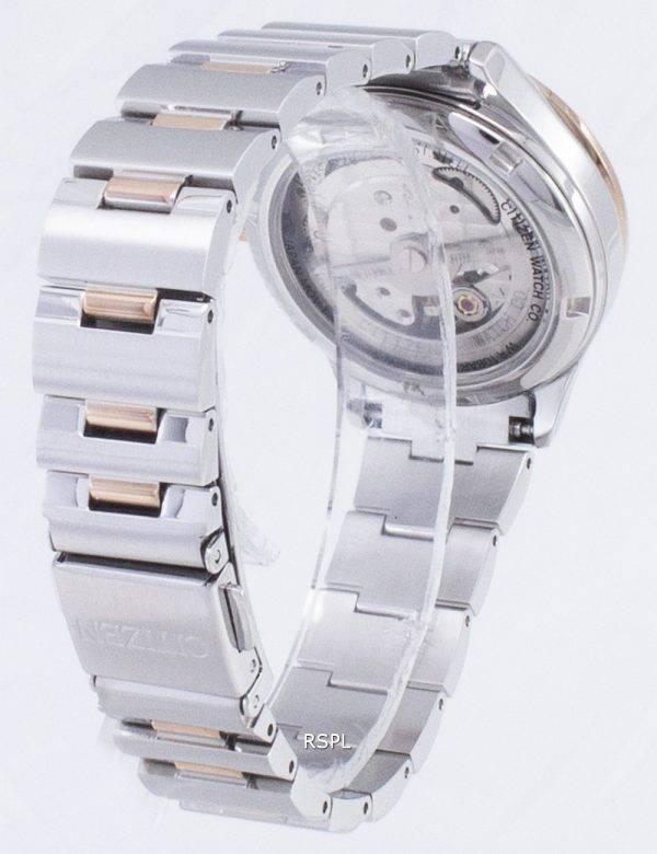 Citizen automatique PC1009 - 51d diamant Accents analogiques Women Watch