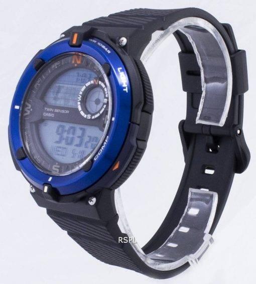 Montre Casio SGW-600H-2 a en plein air SGW600H-2 a Twin capteur Quartz numérique homme