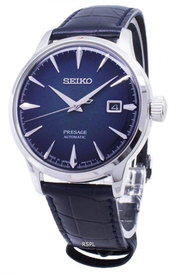 Presage de Seiko SRPC01 automatique Cocktail SRPC01J1 SRPC01J Japon fait montre homme