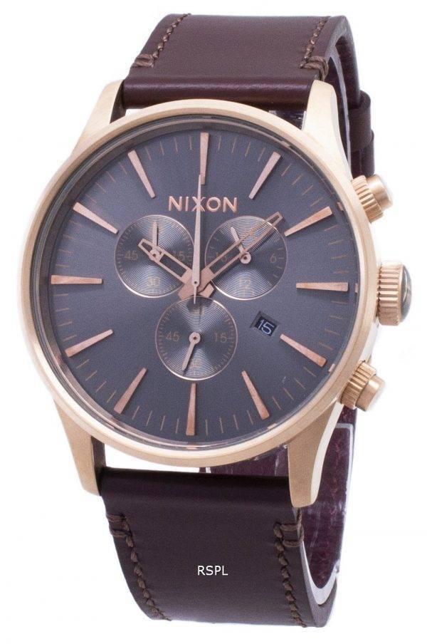 Montre Nixon Sentry Chrono Quartz A405-2001-00 masculin