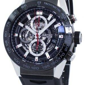 Tag Heuer Carrera chronographe tachymètre automatique CAR2A1Z. FT6044 Montre homme