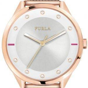 Furla Pin R4253102525 Quartz diamant Accents Women Watch
