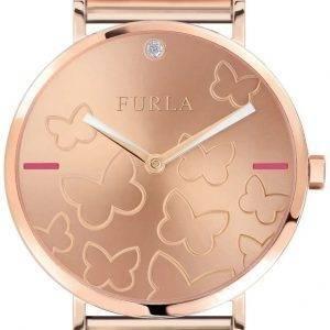 Watch de la femme Furla Giada papillon R4253113501 Quartz