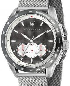 Maserati Traguardo R8873612008 chronographe analogique montre homme