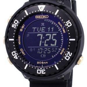 Seiko Prospex SBEP005 Fieldmaster minuscules Dual Time solaire montre homme