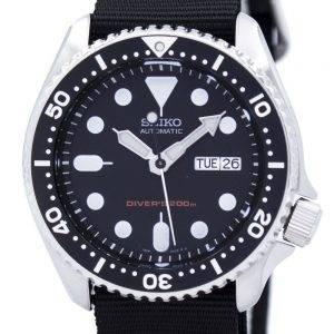 Montre 200M NATO bracelet SKX007K1-NATO4 masculin automatique Seiko Diver