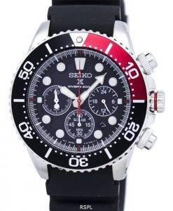 Montre de plongée Seiko Prospex solaire Chronograph 200M SSC617 SSC617P1 SSC617P hommes