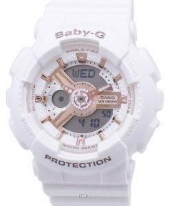 Casio Baby-G BA110RG de BA-110RG-7 a-7 a monde temps résistant aux chocs montre Femme